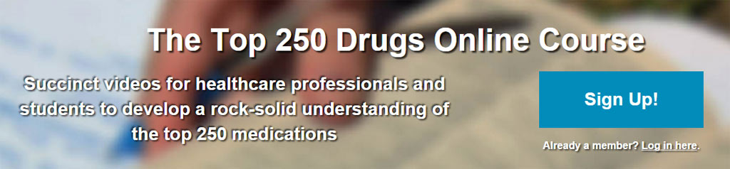 The Top 250 Drugs Online Course