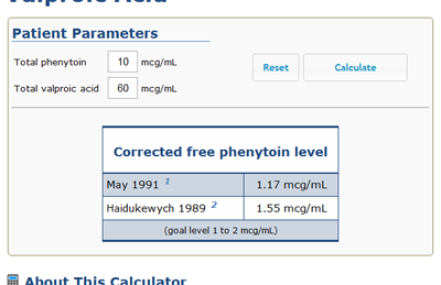 What is free phenytoin level