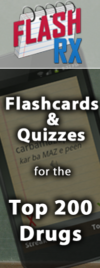 FlashRX - Flashcards and Quizzes for the Top 250 Drugs